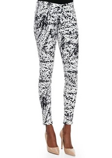 J Brand Jeans Labyrinth Printed Skinny-Fit Jeans