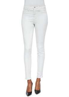 J Brand Jeans Maria High-Rise Luxe Sateen Pants