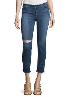 J Brand Jeans Mid-Rise Capri Jeans