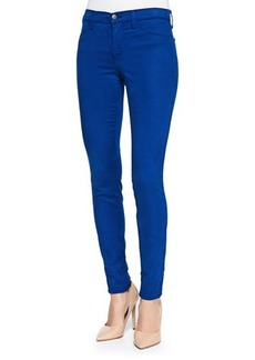 J Brand Jeans Mid-Rise Sateen Skinny Pants