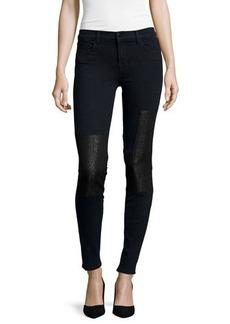 J Brand Jeans Nova Paneled Super-Skinny Jeans