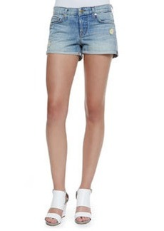 J Brand Jeans Patti Roll Magnetic Denim Cuffed Shorts
