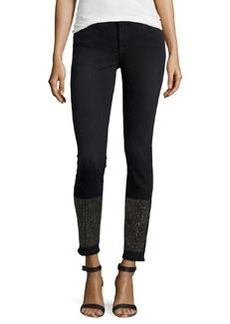 J Brand Jeans Petra Studded Skinny Jeans, Alley Cat