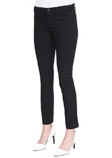 J Brand Jeans Skinny Cropped Rail Jeans, Black