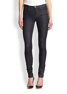 J Brand Jess High-Rise Stacked Skinny Jeans