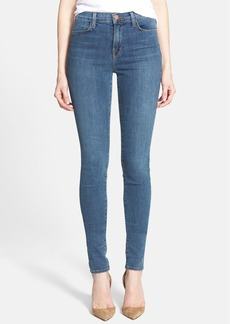 J Brand 'Jess' High Rise Stacked Skinny Jeans (Beloved)