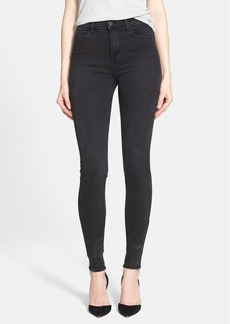 J Brand 'Jess' High Rise Stacked Skinny Jeans (Digital)