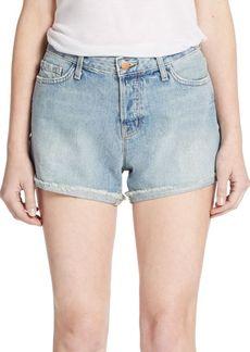 J Brand Joanie Rolled Boyfriend Shorts