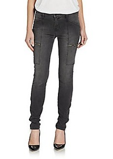 J Brand Kassidy Exposed Zipper Skinny Jeans