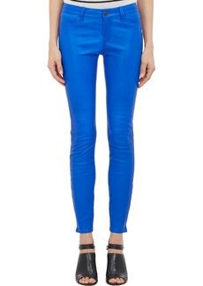 J Brand Lambskin Skinny Jeans