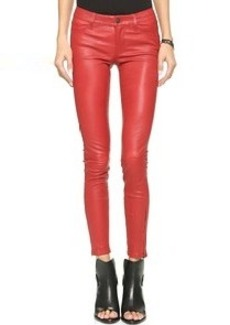 J Brand Leather Pants