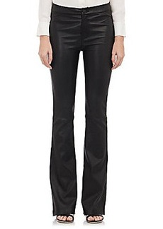 J Brand Leather Vivia Pants