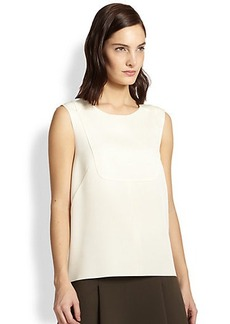 J Brand Lulu Sleeveless Crepe Top