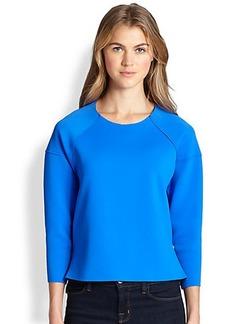J Brand Lumley Neoprene Sweatshirt