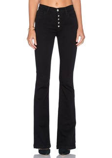 J Brand Maria Exposed Button Flare