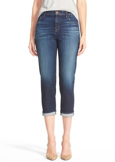 J Brand 'Maria' Straight Leg Crop Jeans (Invited)