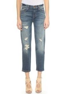 J Brand Maria Straight Leg Cropped Jeans