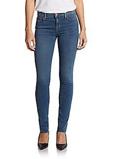 J Brand Medium Wash Mid-Rise Skinny Jeans