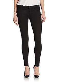 J Brand Metallic-Detailed Super-Skinny Jeans