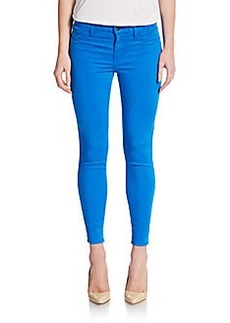 J Brand Mid-Rise Ankle Skinny Jeans