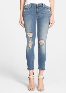 J Brand Mid Rise Crop Skinny Jeans (Fury)