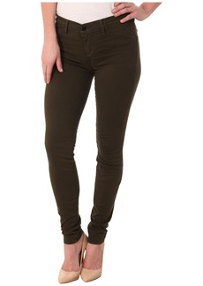 J Brand Mid-Rise Luxe Sateen Super Skinny in Camo