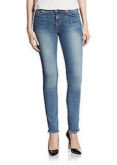 J Brand Mid-Rise Rail Skinny Jeans