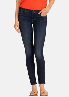J Brand Mid-Rise Skinny Jeans (Oblivion)
