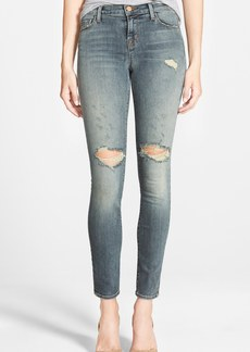 J Brand Mid Rise Skinny Jeans (Revolution)