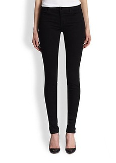 J Brand Mid-Rise Stacked Skinny Jeans