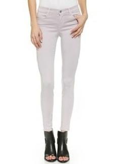 J Brand Midrise Sateen Pants