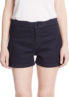 J Brand Mila High-Rise Tailored Denim Shorts