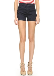 J Brand Mila High Rise Tailored Shorts