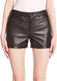 J BRAND Mila Leather Shorts