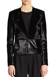 J Brand Montagu Calf Hair Jacket