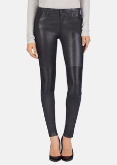 J Brand 'Nicola' Moto Leather Pants