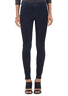 J Brand Nubuck Skinny Pants