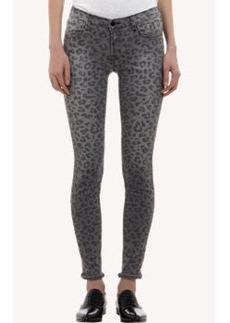 J Brand Onyx Leopard Super Skinny Jeans
