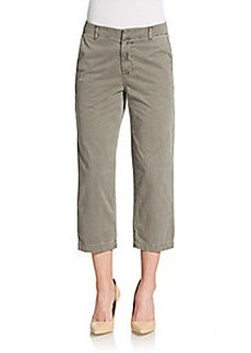 J Brand Parker Twill Cropped Trousers