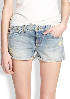 J Brand Patti Distressed Denim Shorts