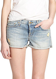 J Brand Patti Distressed Denim Shorts