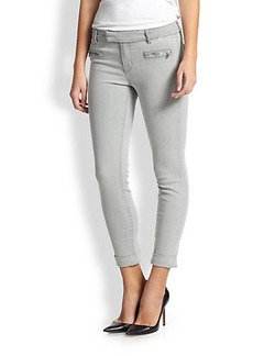 J Brand Paulina Cropped Skinny Trouser Jeans