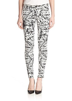 J Brand Photo Ready Printed Super Skinny Jeans