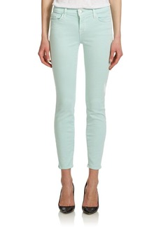 J Brand Photo Ready Super Skinny Cropped Jeans