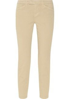 J Brand Piper stretch-cotton twill skinny pants