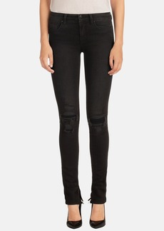 J Brand 'Rail' Mid Rise Skinny Jeans (Break Up)