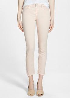 J Brand 'Rail' Mid Rise Super Skinny Jeans (Blush)