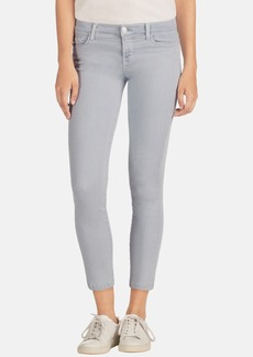 J Brand 'Rail' Mid Rise Super Skinny Jeans (Oyster)