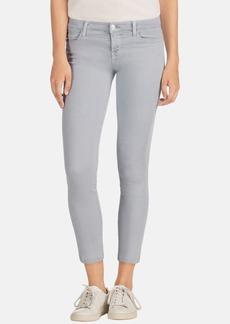 J Brand 'Rail' Mid Rise Super Skinny Jeans (Oyster)