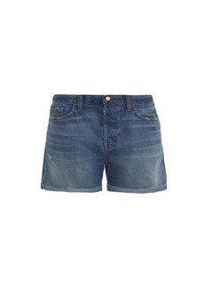 J Brand Raine boyfriend-fit shorts